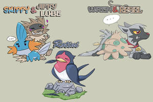 Wedlocke Teams - Pokemon Ruby by Nestly