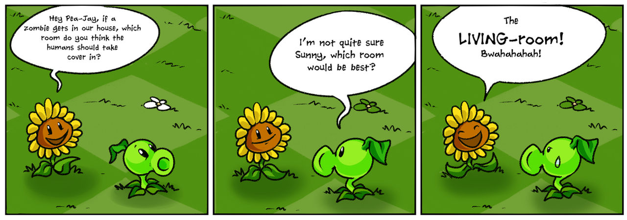 Punny Sunny - Plants vs Zombies - 1