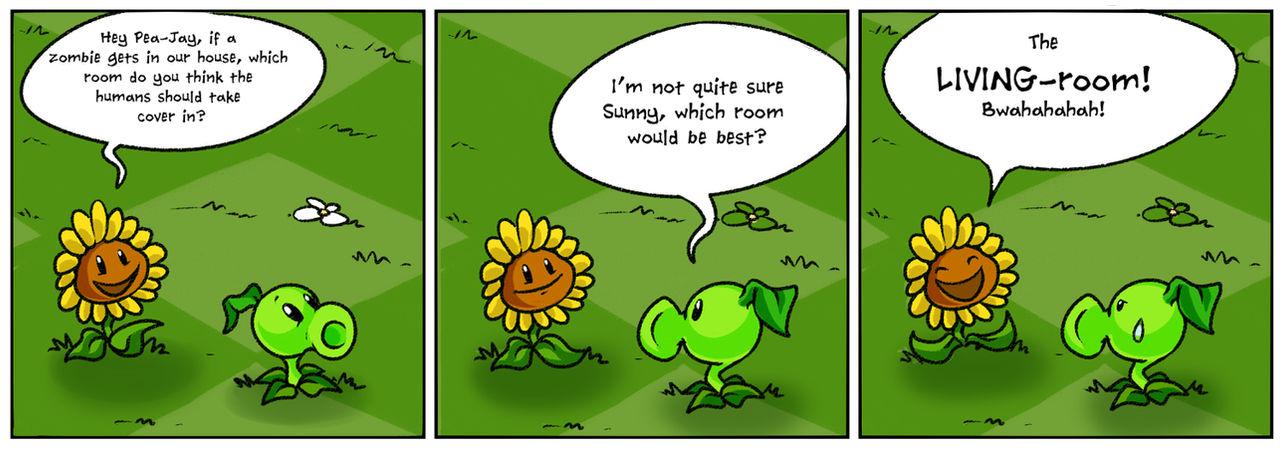 Punny Sunny - Plants vs Zombies - 1