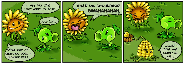 Punny Sunny - Plants vs Zombies - 3
