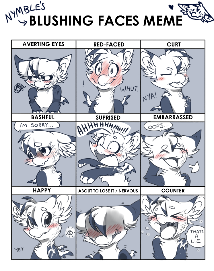 nymble_s_blush_meme_by_nestly d9vmn6n nymble's blush meme by nestly on deviantart
