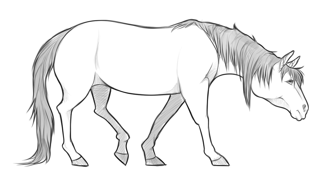Horse by Nestly