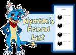 Wyngro Friend List: Nymble