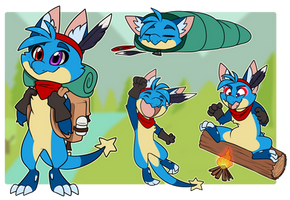 Nymble's Summer Camp Adventure