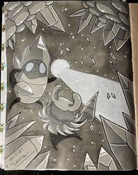 Inktober 1: Crystal