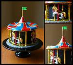 Carousel Display Cake