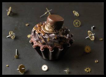 Steampunk + Cupcake = Steamcup