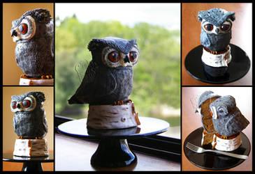 Little Owl Cake