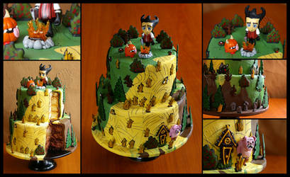 Don't Starve FanArt Cake by CakeUpStudio