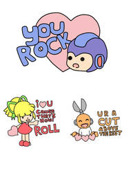 mega man valentines by moe-kawaii-sunshine