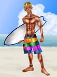 Surfer Dude Roary