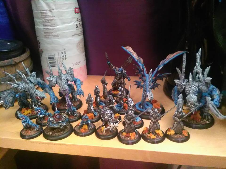 my finished painted Legion of Everblight by TareMorth