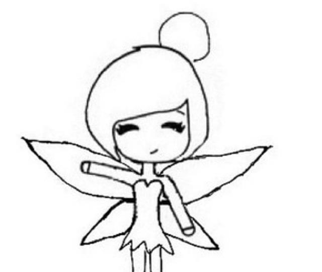 Tinkerbell Chibi Template By Alizei On Deviantart