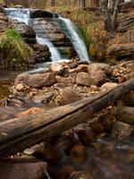 Tonto Falls Autumn by TrentLarsonphoto