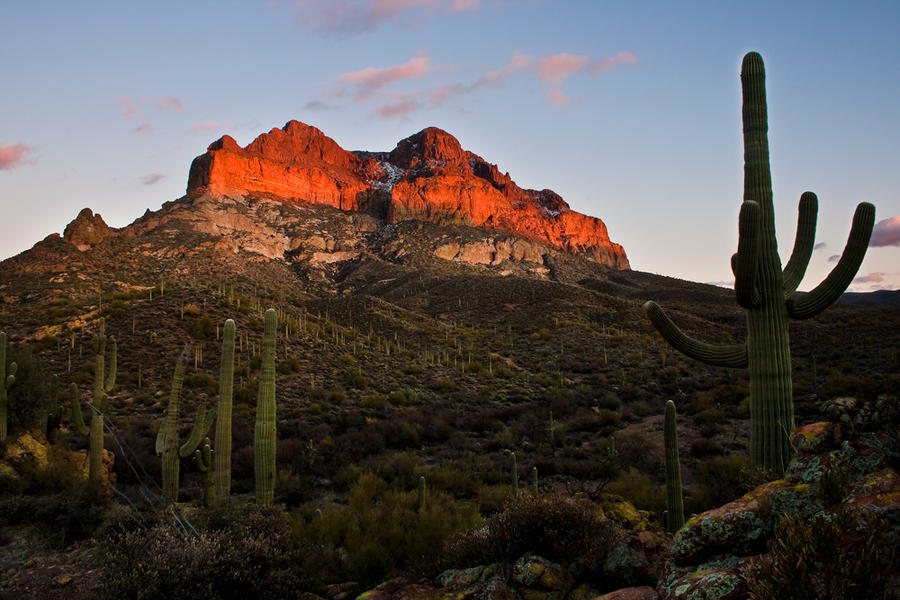 Picket Post Mountain by TrentLarsonphoto
