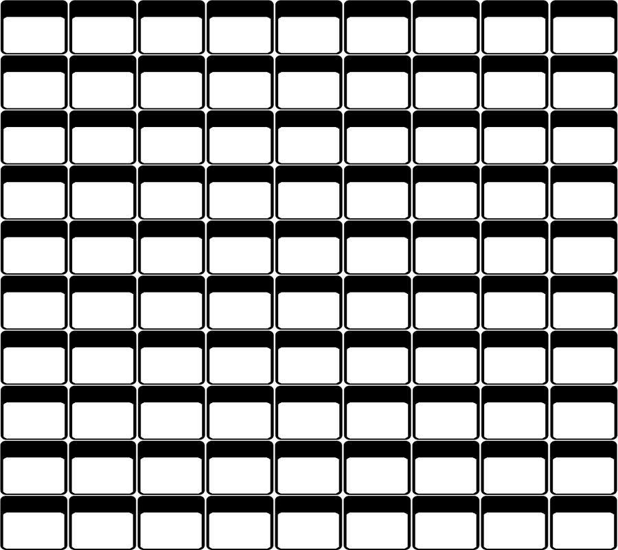 Lovely Blank Roster By ChunkyMonkey2o ... Inside Blank Roster