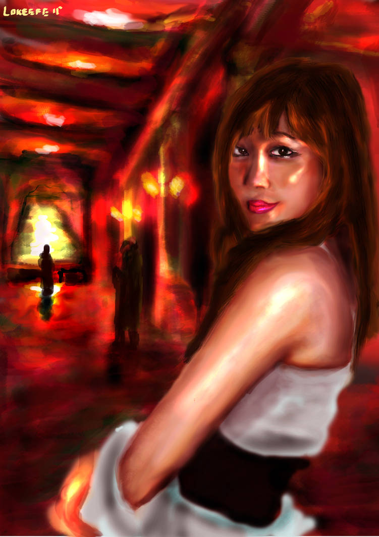 The Girl in the Red Room