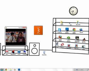 Desktop by Slinkman-realworld