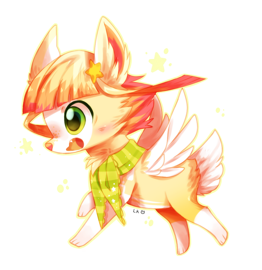 Star Cutie chibi by LittleKittyNeko123