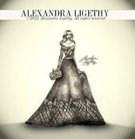 ALEXANDRA LIGETHY - Perla Gown by AlexandraVeda