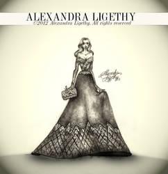 ALEXANDRA LIGETHY - Perla Gown