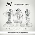 AV Haute Couture Gown Designs