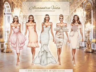 Modern Day Princesses by AlexandraVeda