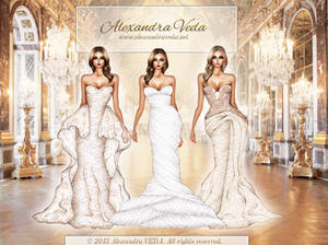 3 Wedding Gowns