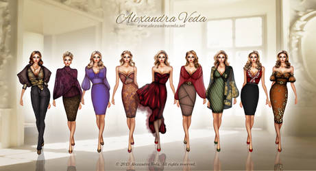 Autumn Collection by AlexandraVeda