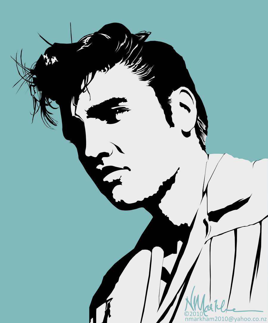 Elvis by neil-in-nz on DeviantArt