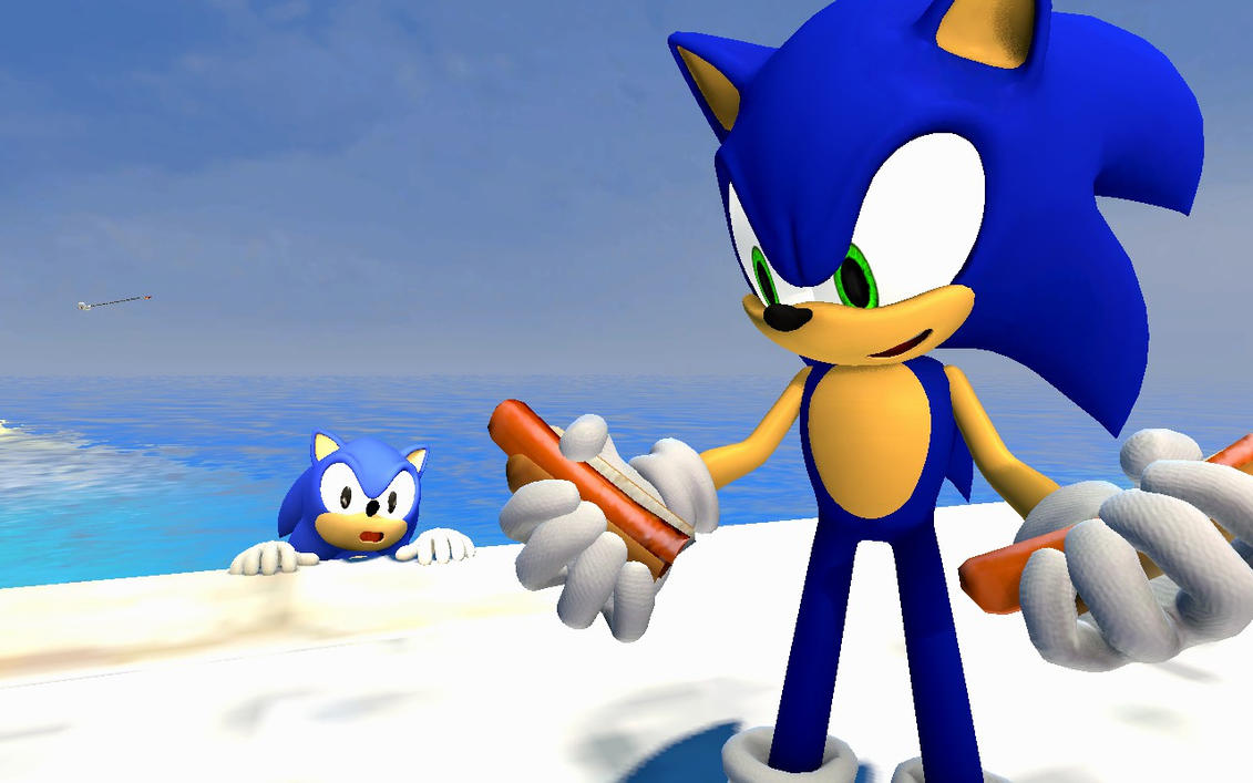 [GMOD] Sonic stole... his own chili dogs? by GnomeGod98 on ...