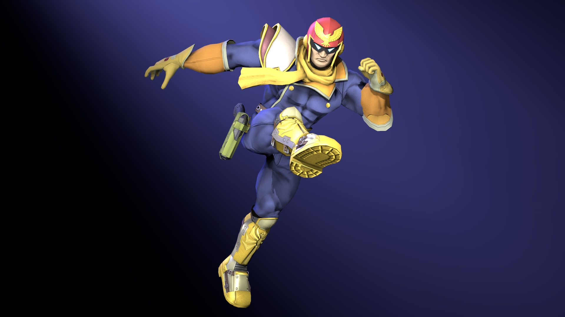 anybody have captain falcon wallpapers? : smashbros