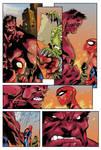 Joe Madureira Avenging Spider-man