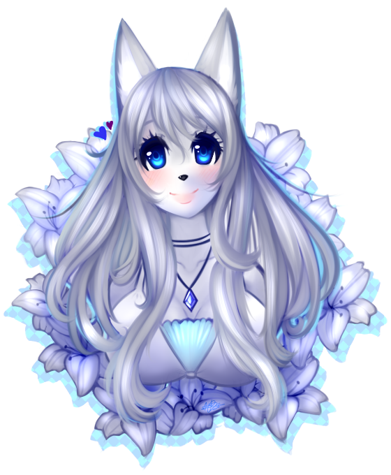 .:ID - Flower Lily 03 [Re-remake]:. by alexa015