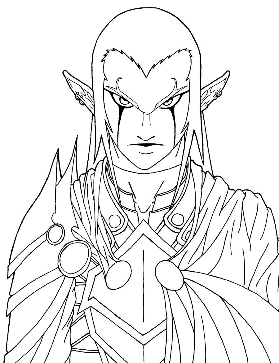 ganondorf coloring pages - photo#50