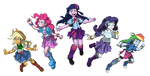 EQUESTRIA GIRLS: TSCOB64 (Main 5) by PedantCzepialski