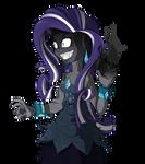 EQUESTRIA GIRLS: TSCOB64 (Nightmare Rarity)