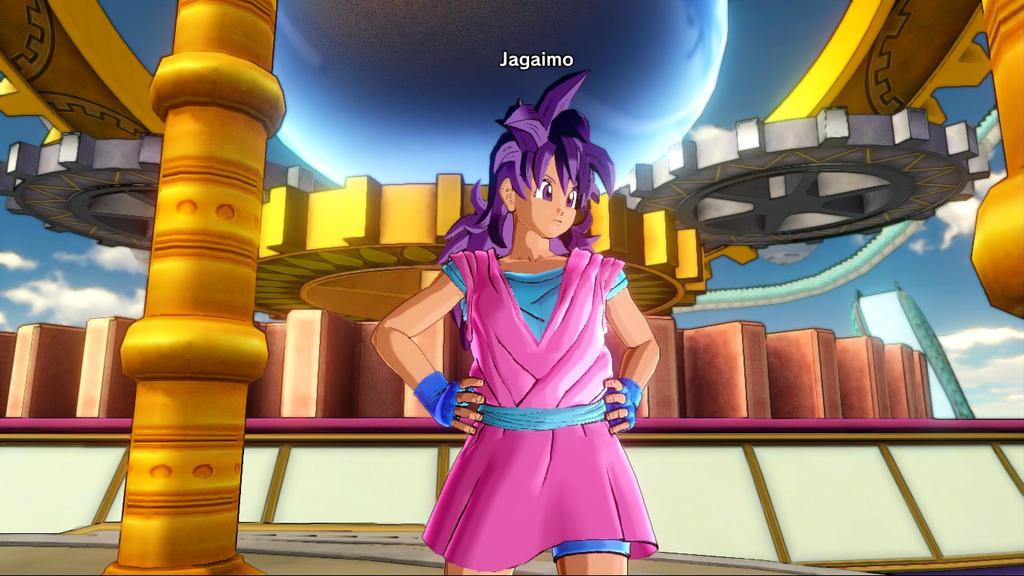 Dragonball Xenoverse - Jagaimo 3 by SSJGarfield