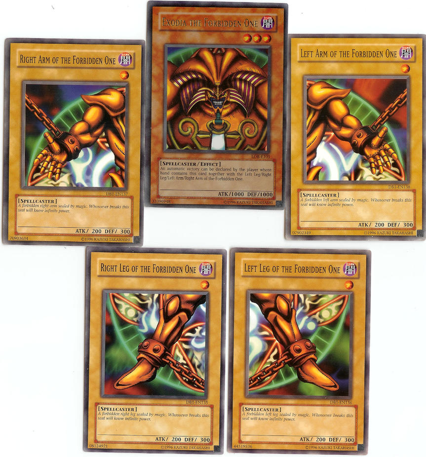 Uncategorized Exodia The Forbidden One exodia the forbidden one by ssjgarfield on deviantart ssjgarfield