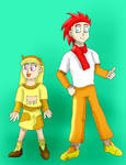 Humanized Cow and Chicken