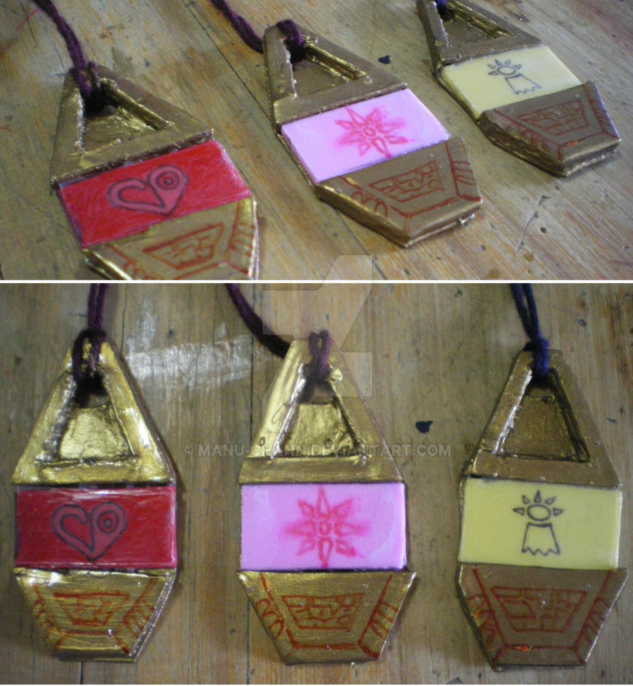 Handmade digimon tags by manu-chann