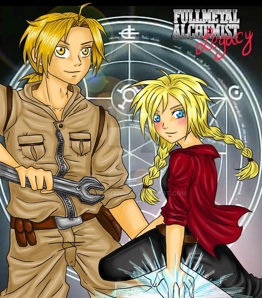 Fullmetal Alchemist Legacy by manu-chann