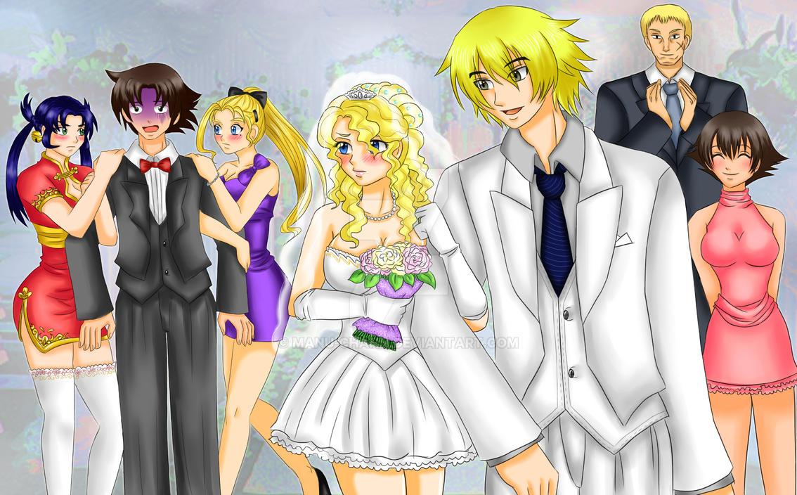 Commission: Rachel and Natsu's wedding by manu-chann on ...