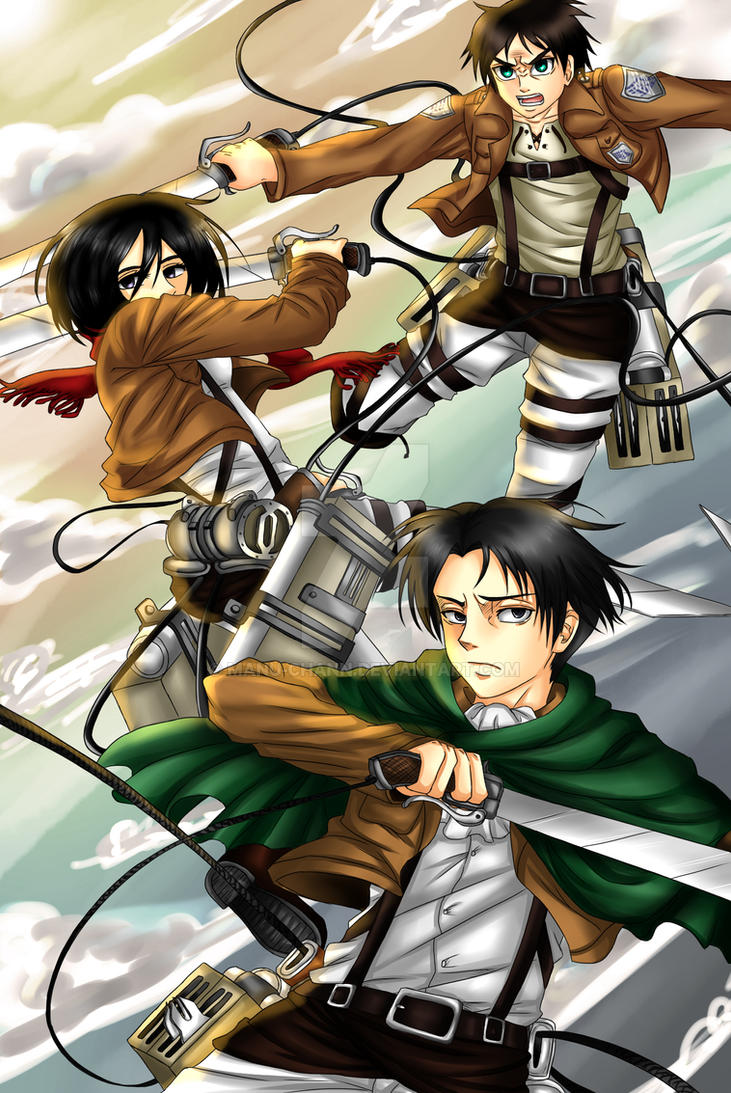 Shingeki no Kyojin by manu-chann