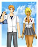 Commission: Ichigo and Halibel