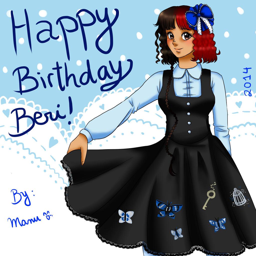 Happy Birthday Beri! by manu-chann