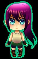 Tiny Chibi: Malia by manu-chann