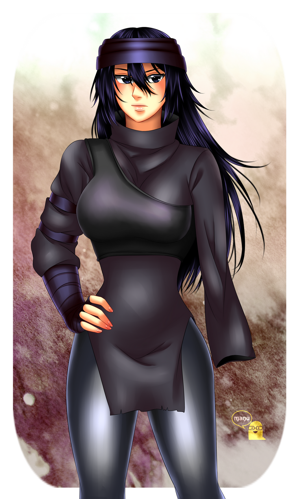commission  female sasuke  the last  by manu