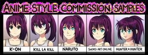 Anime Style Samples: Malia by manu-chann