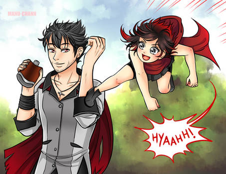 April Patreon Reward: Training with uncle Qrow